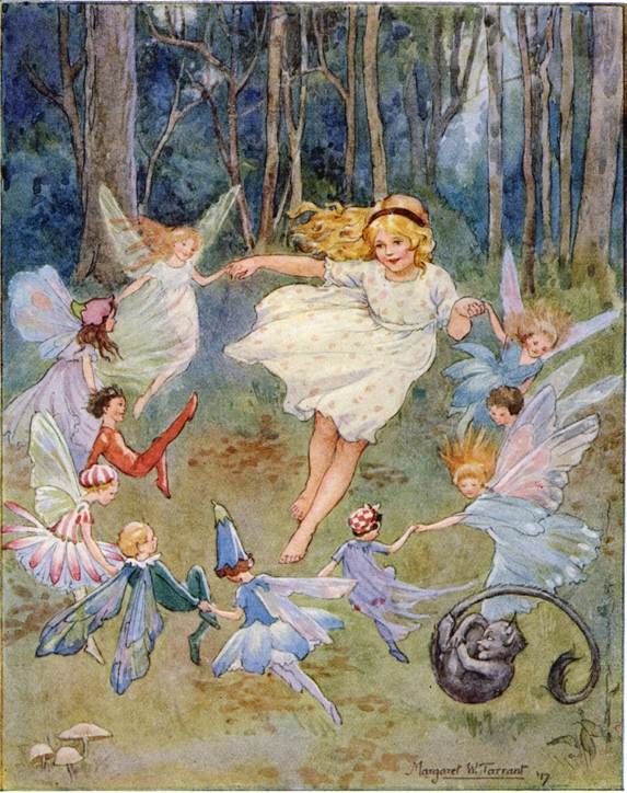 fairy-tale illustration, by Margaret Tarrant. CC-BY-NC-2.0 via Flickr.