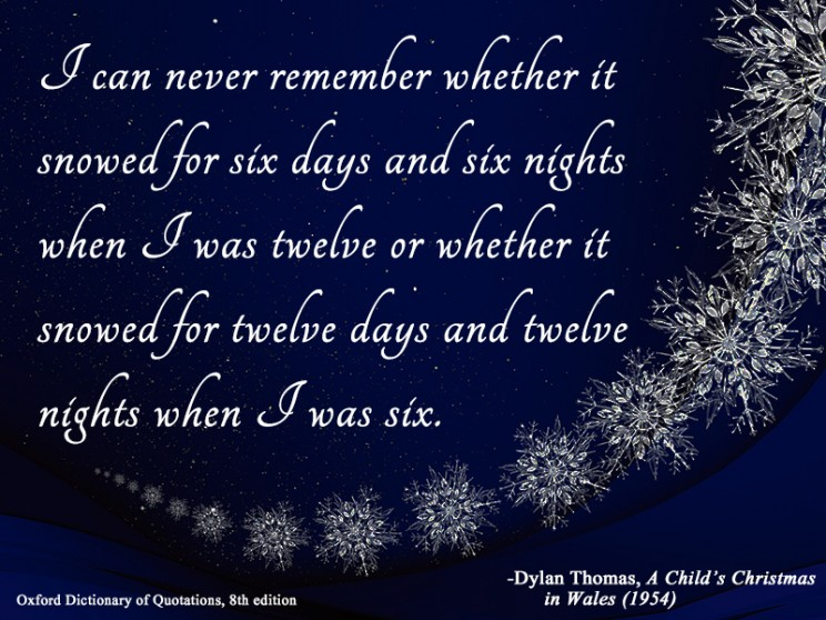 10 Quotes To Inspire A Love Of Winter Oupblog