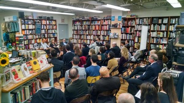 Ruti Teitel at Book Culture in New York