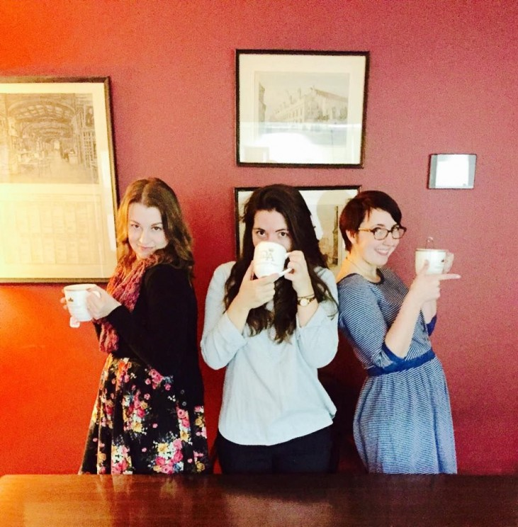 Tea Selfie Courtney Flaherty Molly Hansen Abigail Wickes