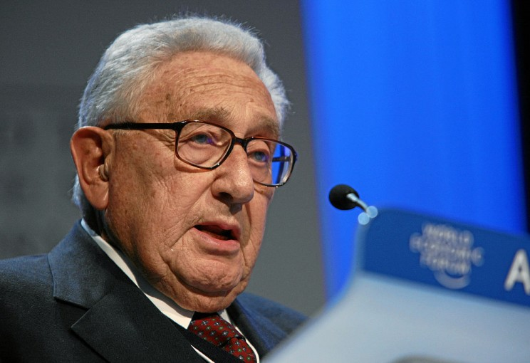 Henry Kissinger - World Economic Forum Annual Meeting Davos 2008. World Economic Forum. CC BY-SA 2.0 via Wikimedia Commons.
