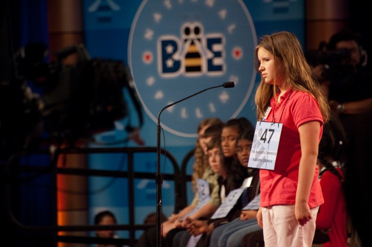 Spelling bee, the bane of our being.