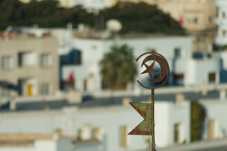 Tunisian Emblem on Roof. © essentialimage via iStock.