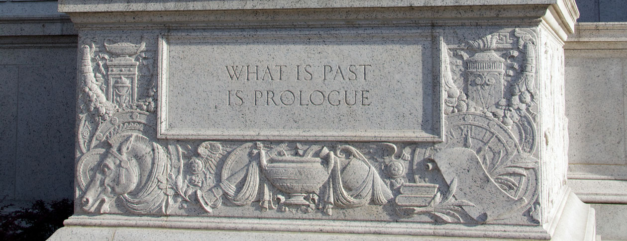 1260-What_is_Past_is_Prologue_statue