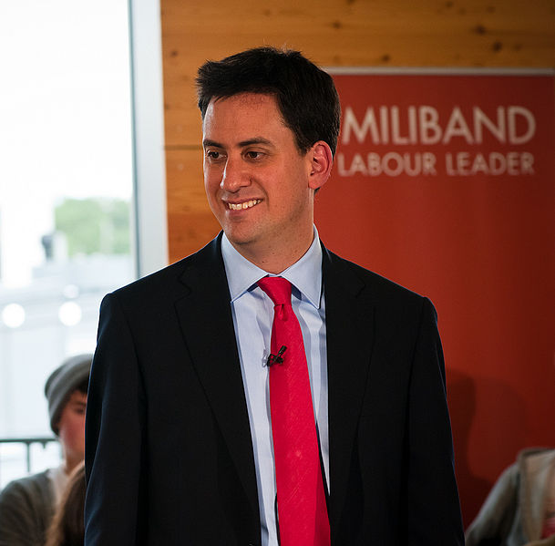 Ed Miliband, August 2010.  CC-BY-2.0 via Wikimedia Commons.