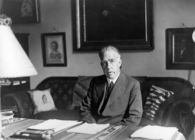 Niels Bohr. Image Credit: Public Domain via Wikimedia Commons.