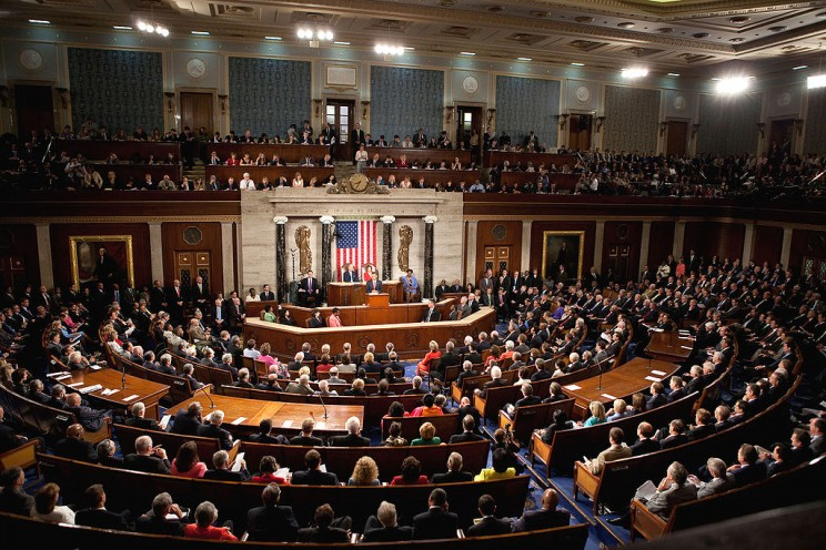 Obama Health Care Speech to Joint Session of Congress. Lawrence Jackson (whitehouse.gov. Public domain via Wikimedia Commons.