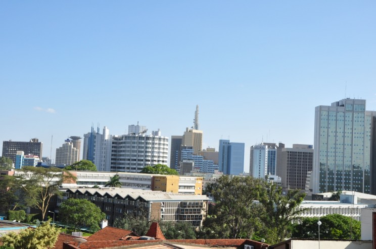 Nairobi Skyline by afromusing. CC BY 2.0 via Flickr.