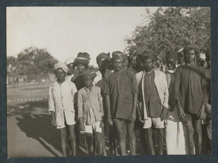 'A school of untouchables near Bangalore' by Lady Ottoline Morrell (1935). NPG Ax143754. CC BY-NC-ND 3.0. © National Portrait Gallery, London.