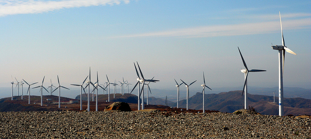 Mulan Wind Farm by Land Rover Our Planet. CC BY-ND 2.0 via Flickr.