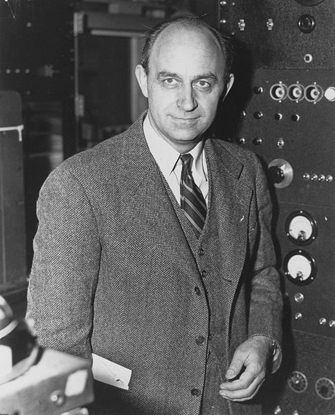 Enrico Fermi. Image Credit: Office of Public Affairs, United States Department of Energy. Public Domain via Wikimedia Commons.