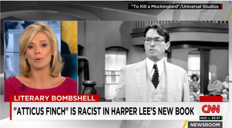 Harper Lee's bombshell of a book. CNN, July 14, 2015. 17 U.S.C. § 107: Fair Use