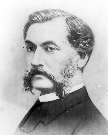 French cinema pioneer Louis Le Prince (1842-1890) from the New York Public Library's digital library. Public domain via Wikimedia Commons.