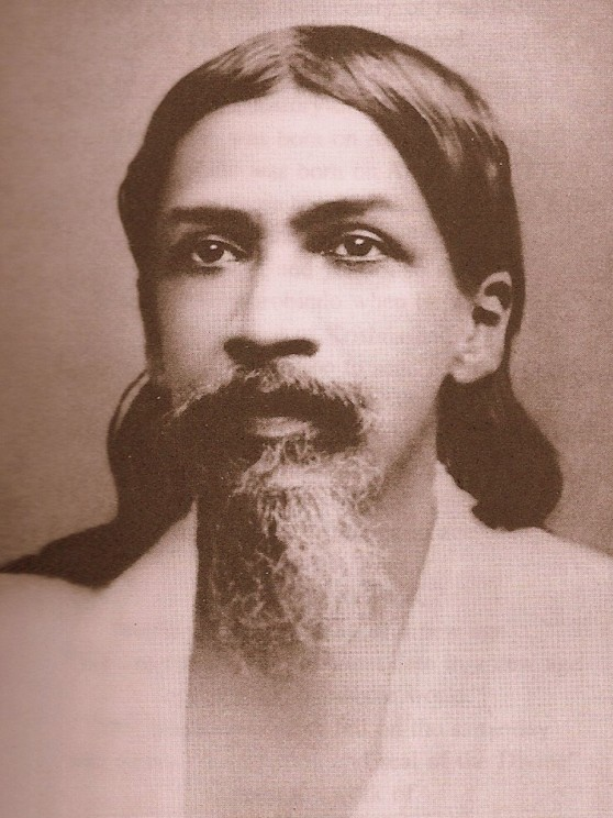 Sri Aurobindo. Public domain via Wikimedia Commons.