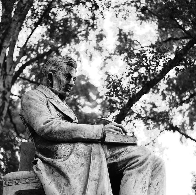 Søren Kierkegaard by Sigfrid Lundberg. CC-BY-SA-2.0 via Flickr.