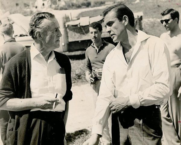 Image: Ian Fleming and Sean Connery, via Scio School Central. CC-BY-ND-2.0 via Flickr.