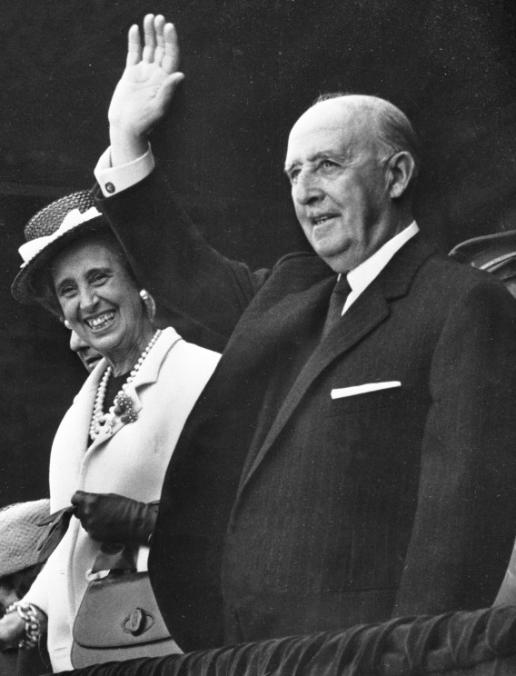 Francisco_Franco_and_Carmen_Polo