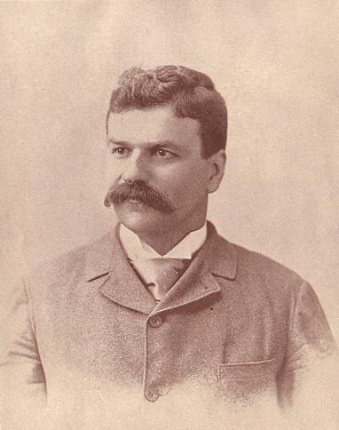 "Sam Walter Foss (1858-1911), the author of  the poem""Calf-Paths,"" among hundreds of others."
