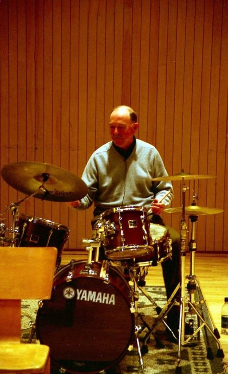 Andy White at Skidmore College in 2006. Photo courtesy of Gordon R. Thompson.
