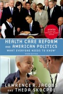 9780190262044 - Health Care Reform and American Politics: What Everyone Needs to Know