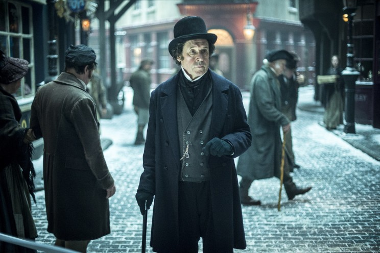Stephen Rea as Ispector Bucket in the BBC Drama Dickensian. Dickensian airs on Boxing Day at 7pm and 8.30pm on BBC One.