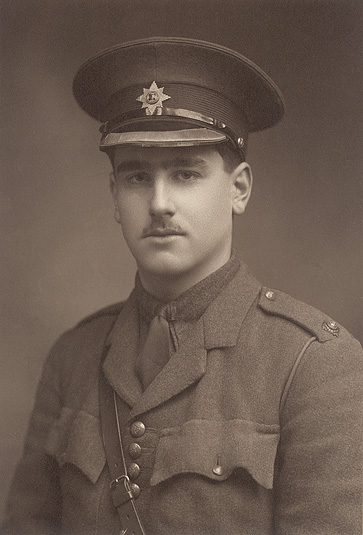 John Kipling in 1915, the year that he died. Public Domain via Wikimedia Commons.