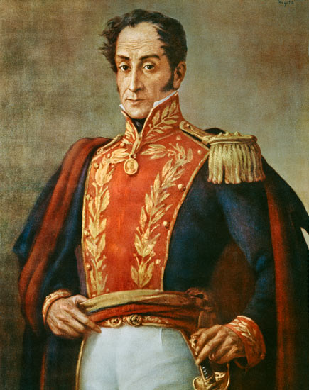Simón Bolívar by Iamcharles66. CC BY-SA 4.0 via Wikimedia Commons.