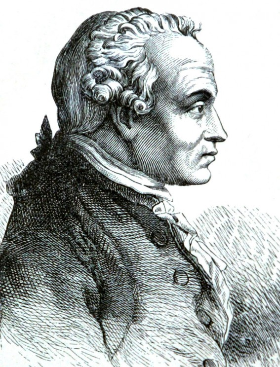 Immanuel Kant. Public domain via Wikimedia Commons.