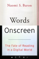 words on screen cover