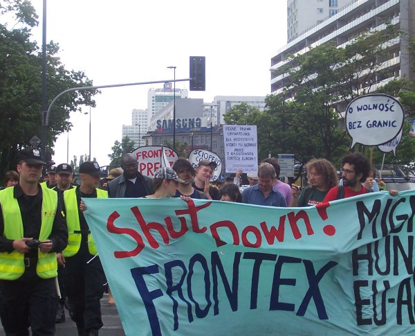 Frontexprotest