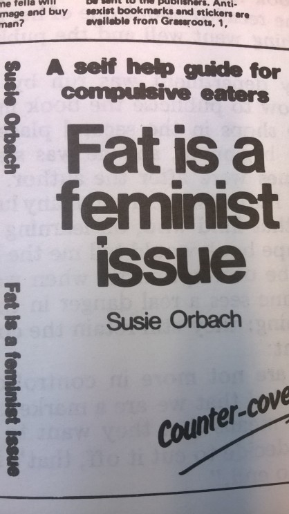 Alternative cover of Fat is a Feminist Issue