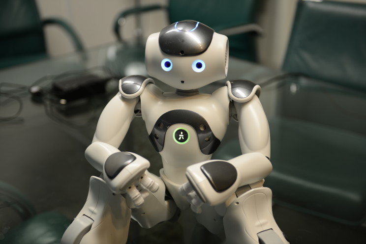 NAO Robot by Stephen Chin. CC BY 2.0 via Flickr.