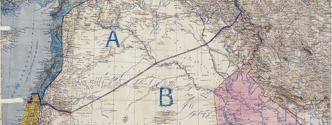 Sykes Picot The Treaty That Carved Up The Middle East Oupblog