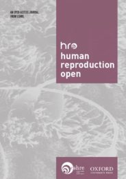Human Reproduction Open