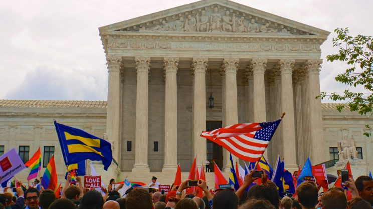 Supreme Court of the United States ends marriage discrimination - Obergefell vs Hodges