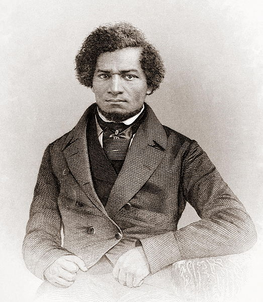 Frederick Douglass as a young man. Public domain via Wikimedia Commons
