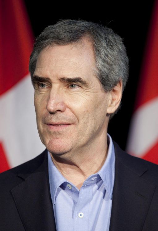 Liberal Leader Michael Ignatieff at a town hall discussion in Victoria, BC by Georges Alexandar. CC-BY-2.0 via Flickr.