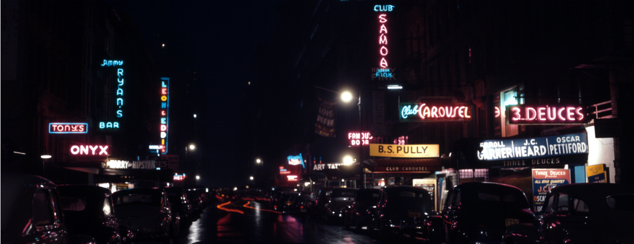 The development of urban nightlife, 1940s hipsters, & the rise of dating