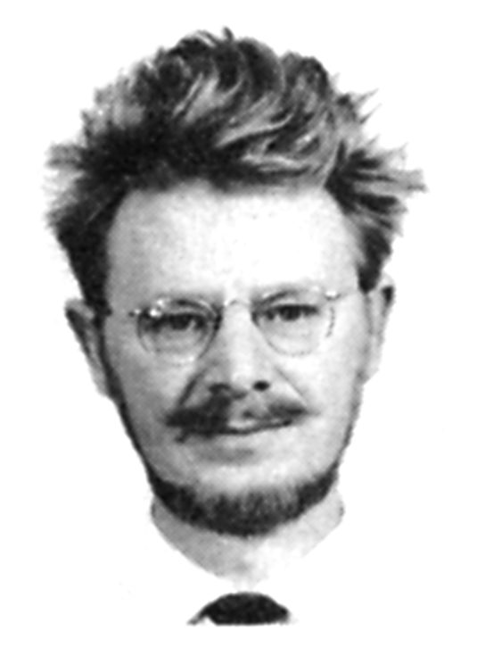 John Stewart Bell, 1964. SLAC Staff Directory photograph. Courtesy SLAC National Accelerator Laboratory, Archives and History Office, Muffley Collection.
