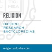 Oxford Research Encyclopedia of Religion