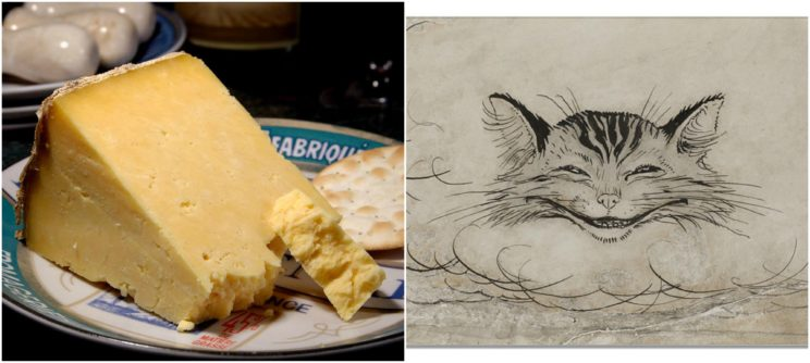 Cheshire is famous not only for its cat and cheese.