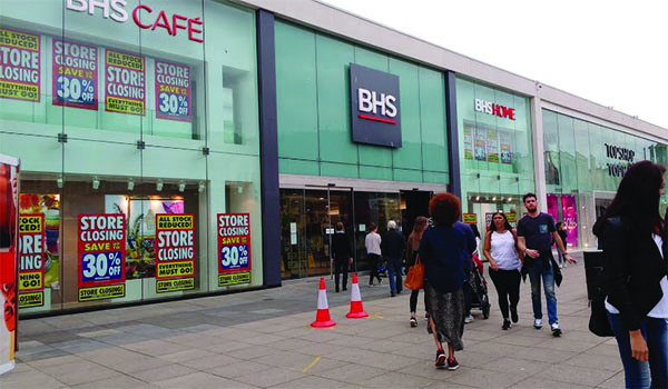 BHS store Brighton Closing Down, licensed for reuse via Wikimedia Commons