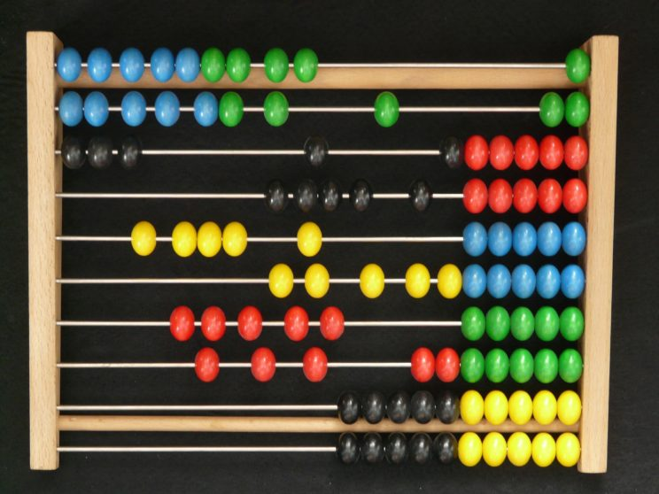 Abacus by Hans. Public domain via Pixabay.