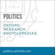 Oxford Research Encyclopedia of Politics