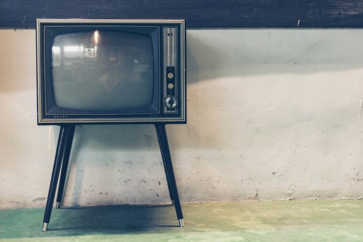 TV by Sven Scheuermeier. Public domain via Unsplash.