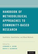 Handbook of Methodological Approaches to Community-Based Research