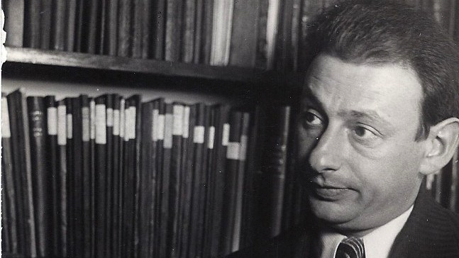 Gershom Scholem in 1935 by Jonund. Public domain via Wikimedia Commons.