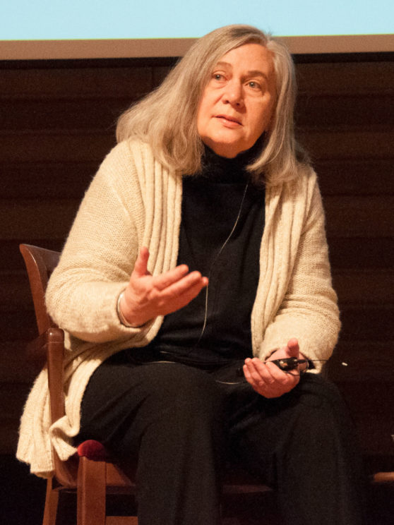 Marilynne Robinson, the American Pulitzer Prize winner and Calvinist author who wrote Housekeeping, Gilead, and Lila. This image by Christian Scott Heinen Bell is made available under the Creative Commons CC0 1.0 Universal Public Domain Dedication