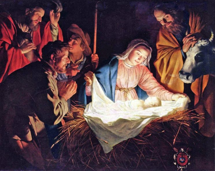 Image: Birth of Jesus by janeb13 , CCO Creative Commons via Pixabay.