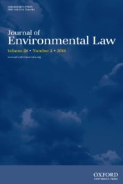 Journal of Environmental Law, Volume 28,  Issue 2